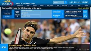 US Open Live Scores